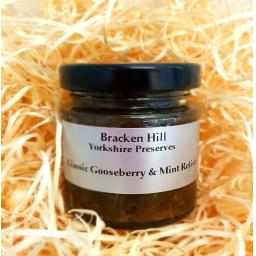 Mini Gooseberry & Mint Relish