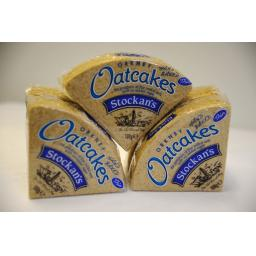 Stockans thin oatcakes fine milled oats with no added sugar