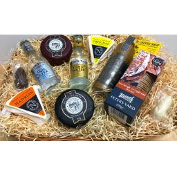 The Gin and Cheese Deluxe Hamper