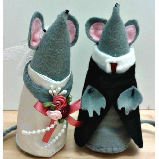 Felt Mice (5 inch)