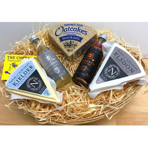 Mini Gin and Cheese Hamper