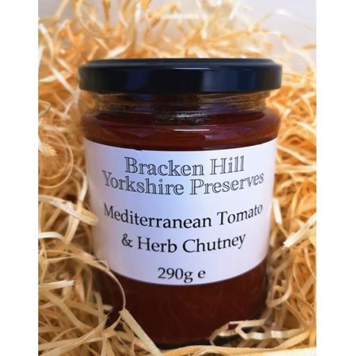 Mediterranean Tomato & Herb Chutney