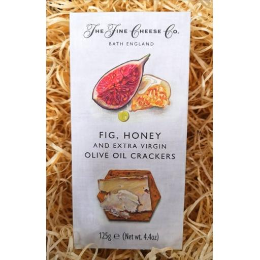 Fig, Honey and Olive Oil Crackers