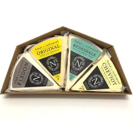 Northumberland Cheese Gift Box Set
