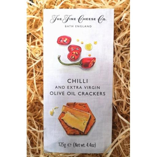 Chilli and Olive Oil Crackers