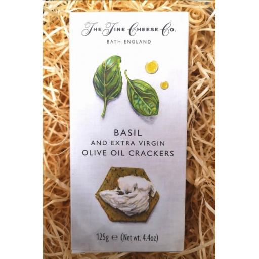 Basil and Olive Oil Crackers