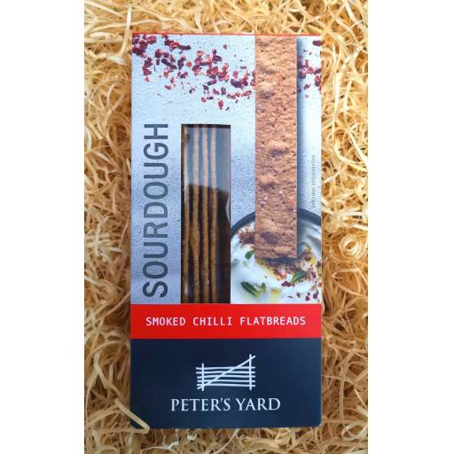 Peter's Yard Smoked Chilli Flatbreads